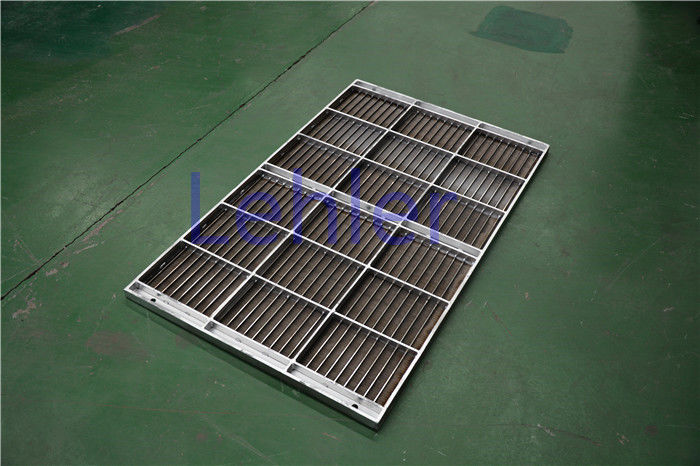 Stainless Steel Column Internal Trays , Dewatering Wedge Wire Support Grid