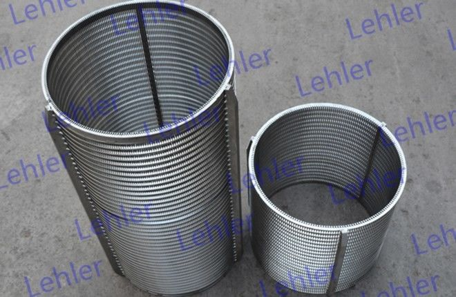 Non - Clogging Wedge Wire Basket Economically For Large Quantities Industries
