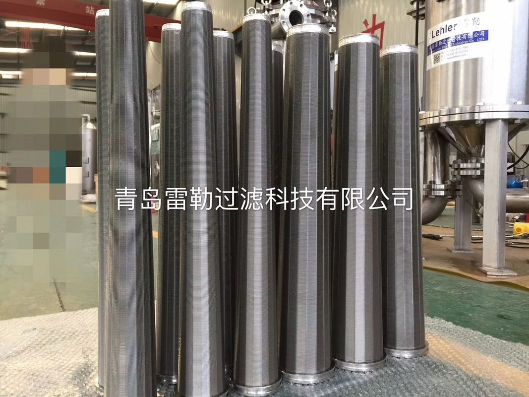 RF10 300 Micron Slot Conical Wedge Wire Filter Elements